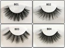 лучшая цена Eyelashes Extension 3D Real Mink eylelash for makeup Thick lashes Natural long handmade False Eyelashes