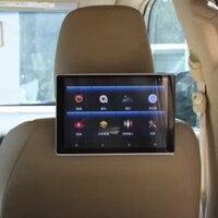 В подголовнике автомобиля dvd плеер HD цифровой ЖК экран с Android монитор Поддержка беспроводные наушники для Mazda 2 авто ТВ экран