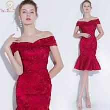 Платье Русалка с открытыми плечами длина мини