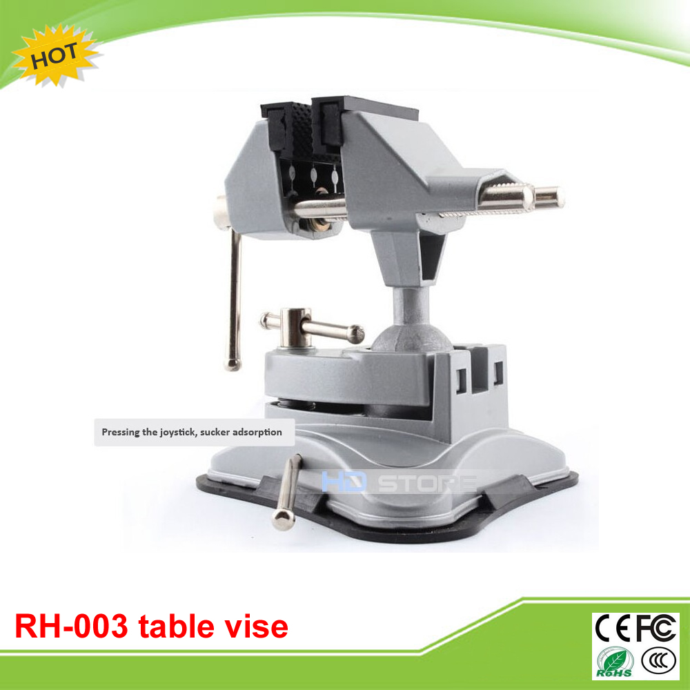 RDeer universal 360-degree RH-003 mini table bench vise small aluminum alloy vise