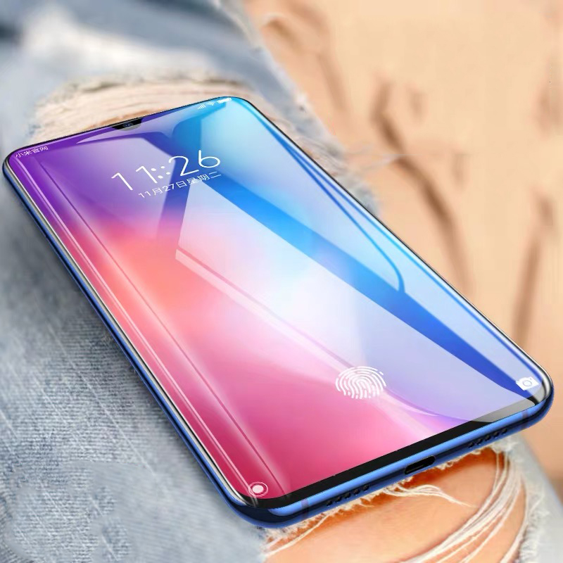 Image 2 - 2Pcs/lot Tempered Glass For Xiaomi Mi 9 SE Mi9 Pro Glass Screen Protector Anti Blu ray Glass For Xiaomi mi 9 se Protective film-in Phone Screen Protectors from Cellphones & Telecommunications