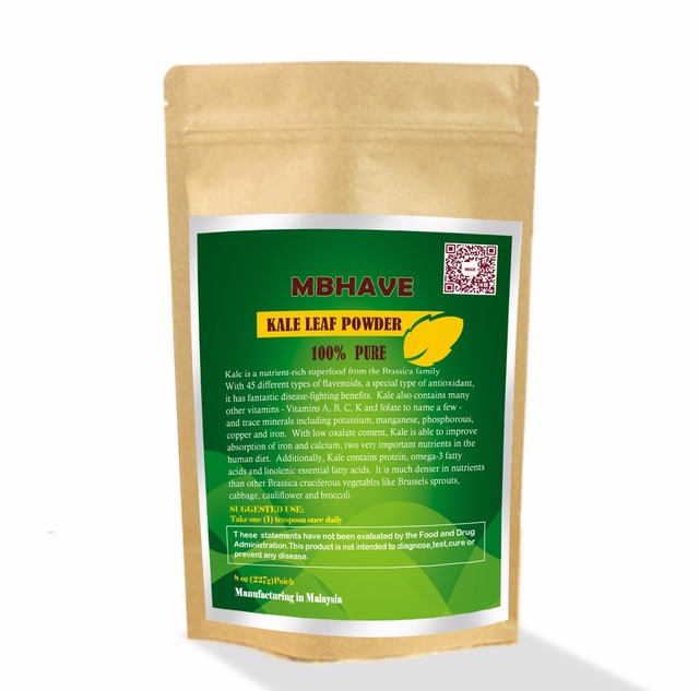 Kale Powder 8oz  - 100% Pure Premium Quality Superfood