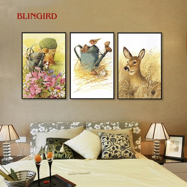 Nord stile Europeo idee pittura decorativa soggiorno sala da pranzo ...