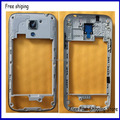 Original  Middle Frame Middle Plate Cover  For Samsung Galaxy S4 Mini I9190 i9195 i9192 Housing +Side Button Key