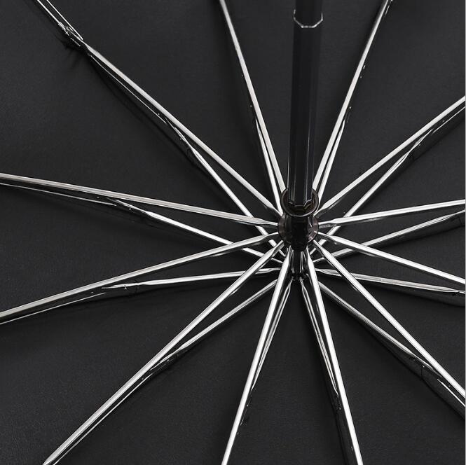 125 センチメートル大傘のため 3 人トップ品質の男性の女性サニー雨防風男性 3 折りたたみビッグ傘屋外パラソル paragu  グループ上の ホーム&ガーデン からの 傘 の中 3