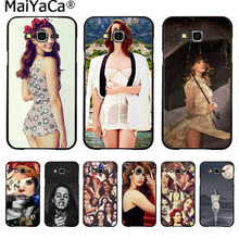 MaiYaCa Beautiful Lana Del Rey Sexy Printing Drawing protection phone Case for Samsung 2015J1 J5 J7 2016J1 J3 J5 J7 Note3 4 5(China)