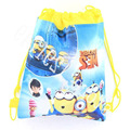 Children school bags Despicable Me Minions Kids Cartoon Drawstring Mochila Infantil For Gift Bag &duolaimi1616