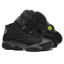 c588c60a5f3e AIR US JORDAN 13 XIII Men Basketball Shoes women grey toe city flight