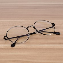 Elegant Quality Round Spectacles Frames Women Men Fashion Simple Style Clear Optical Glasses Students Myopia Prescription Frames
