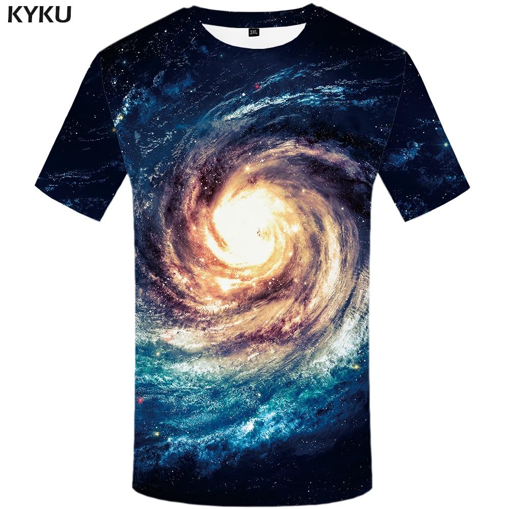 KYKU Marke Galaxy T Shirt Frauen Raum T-shirt Nebula 3d Druck T-shirt Hip Hop T Anime Kleidung Fitness Kühlen Frauen Kleidung 2018