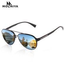 732fadc3a4 2019 Marca Diseño clásico TR90 polarizado gafas de sol hombres mujeres  conducción gafas de sol redondas marco masculinas gafas U..