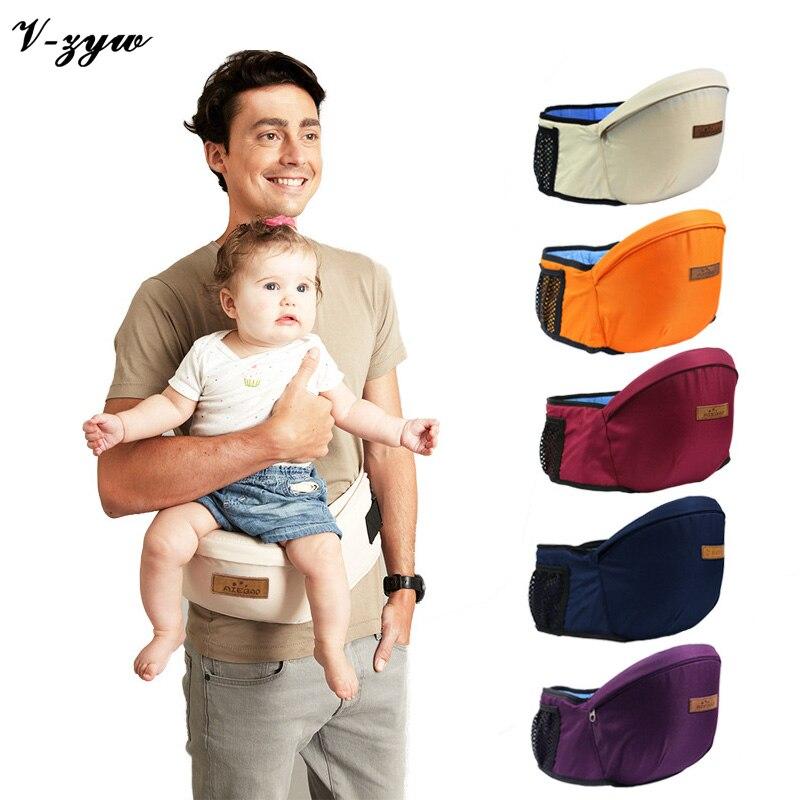 2016 New Design Baby Carrier Waist Stool Walkers Baby Sling Hold Waist Belt Backpack Hipseat Belt Kids Infant Hip Seat GZ129