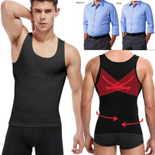 New fashion cotton sleeveless shirts tank top men Fitness shirt mens singlet Bodybuilding workout gym vest fitness