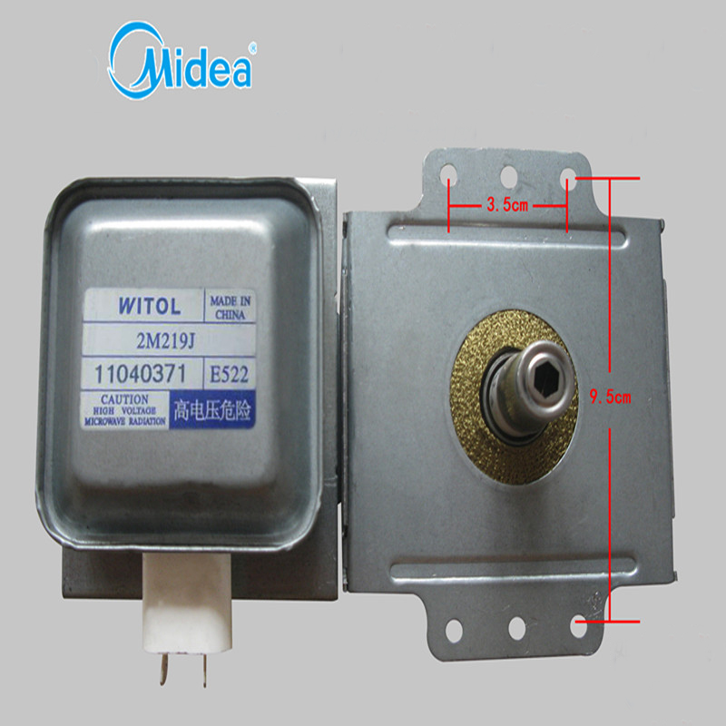 original Midea Microwave Oven Parts,Microwave Oven Magnetron 2M-219J Refurbished Magnetron WITOL 2M 219J цена и фото