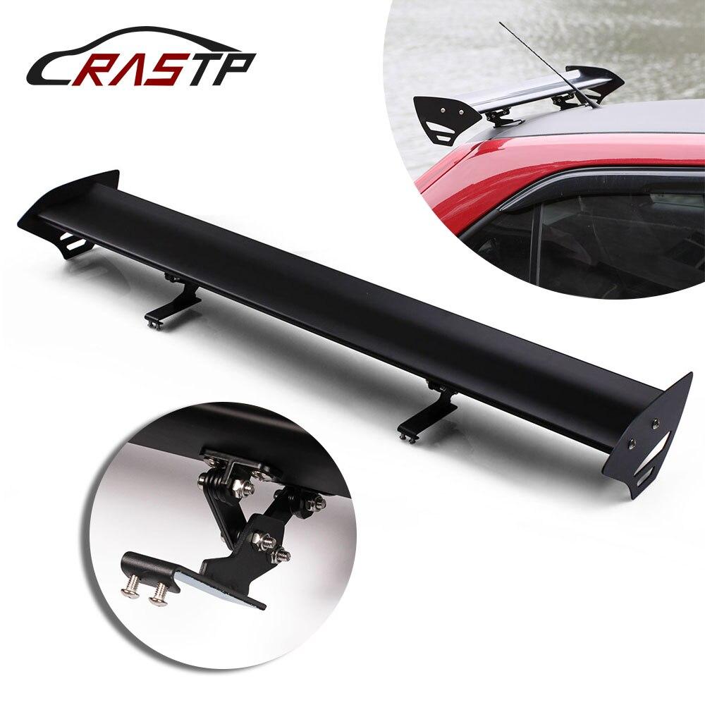Universal 53/'/' Hatch Aluminum  Adjustable GT-Style Rear Car Trunk Spoiler Wing