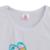 Meninas roupas de primavera set top branco com coelho camisetas coloridas vintage ruffle pant crianças boutique de roupas de algodão outfits e001
