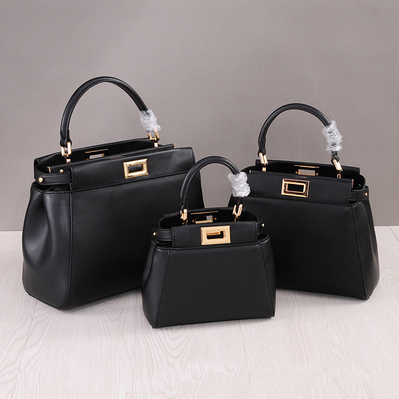 NEW Genuine Leather women Handbag Luxury Designer Casual Tote Bags Shoulder Bag fashion mini Messenger bag Three Size Six colors 100% genuine leather women bags luxury serpentine real leather women handbag new fashion messenger shoulder bag female totes 3