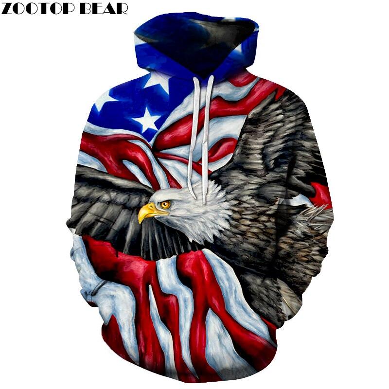 Flag Printed 3D Hoodies Men Sweatshirts Unisex Brand Hoodie Male Traksuits Noveltry Streetwear Boy Jakcets Hooded Pullover Coats