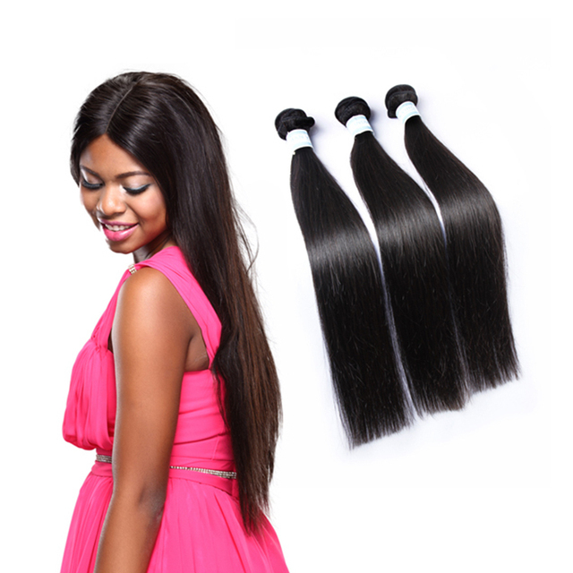 1pcs Bundle 6a Grade Brazilian Blended Hair Extension Straightraw
