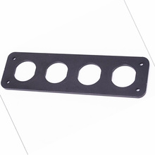 4 hole switch frame Yacht combination installation modified car holder mounting