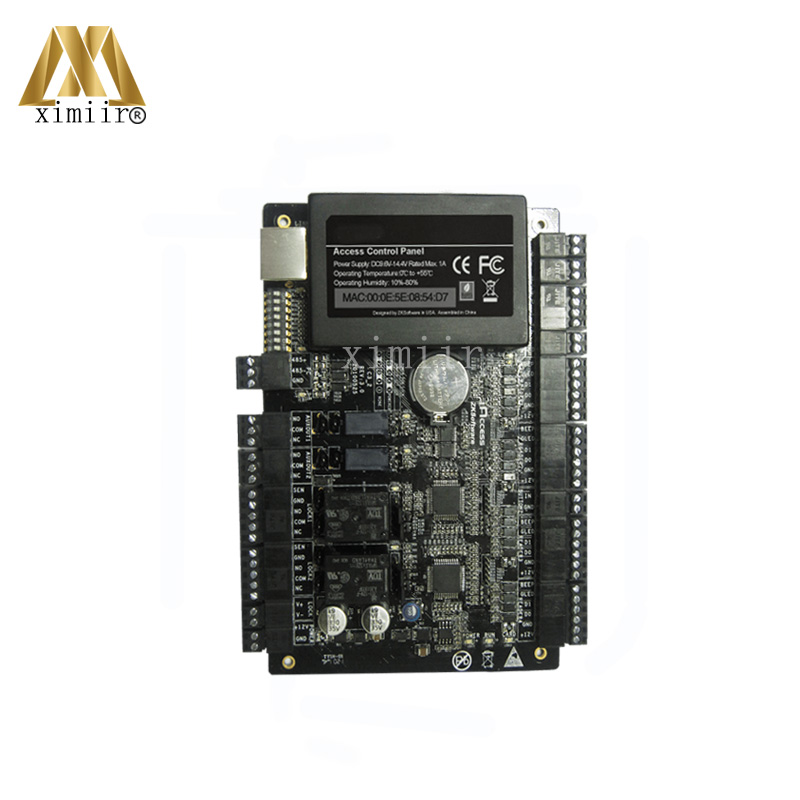 High security TCP/IP card access control panel access control main board with weigand in for 2 doors 2 sides C3-200 door control free shipping tcp ip 2 doors access controller can connect with 4 pcs weigand reader good quality door access control board l02