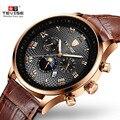 Часы Tevise мужские  автоматические  механические  спортивные  золотые