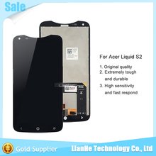 Brand New for Acer Liquid S2 S520 LCD Screen Display and Touch Screen Digitizer Assembly Black Color free shipping