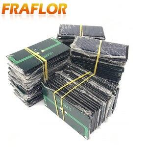 Image 5 - 10ピース/ロット卸売5v 60mAエポキシソーラーパネルミニ太陽電池多結晶シリコン太陽電池diyソーラーモジュール送料無料