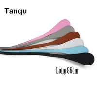 TANQU New Long Extra Slim Interchangeable Teardrop Handles Faux Leather Handles For OBag For EVA O