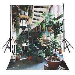 150x220cm żywe zielone rośliny tło przytulne sam czas fotografia tło rekwizyty studyjne
