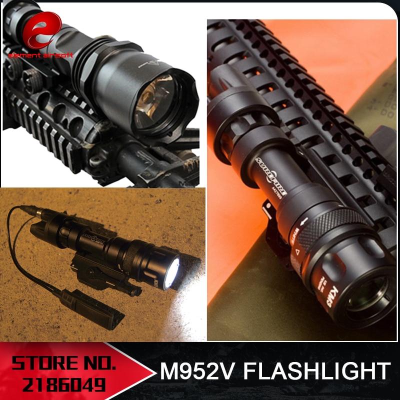 요소 장난감 총 전술 손전등 M952V 무기 빛 380 루멘 소총 손전등 사냥 EX192