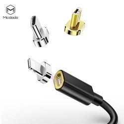 Mcdodo typu C kabel Micro USB szybki kabel ładowania telefonu komórkowego z systemem Android magnes ładowarka dla iPhone Samsung Xiaomi magnetyczny kabel USB w Kable do telefonów komórkowych od Telefony komórkowe i telekomunikacja na