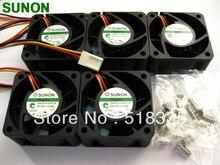 עבור Sunon מגלב HA40201V4 0000 C99 4CM 40*40*20MM 4020 DC 12V 0.6W סופר שתיקה מאוורר