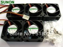 New Sunon Maglev HA40201V4 0000 C99 40x20mm Super Silence Fan sunon maglev fan ha40201v4 d000 c99 dc12v 0 6w 4020 40 40 40 20mm f server inverter power supply axial cooling fans 3pin