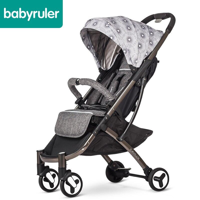 Babyruler baby stroller portable folding mini baby car umbrella montblanc