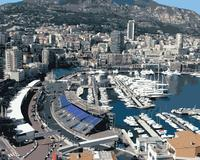 MaHuaf J335 Western Europe Monaco Port Blue Coast Yacht Painting On Canvas By Numbers For Living