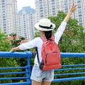 Женщины Точка Холст Рюкзак Рюкзак Путешествия Сумка Девушка Школьной Сумке Книгу