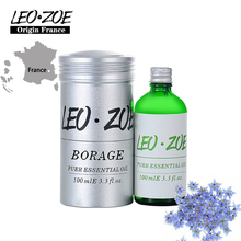 LEOZOE Borage Oil Certificate Of Origin France High Quality Authentication Borage Essential Oil 100ML Aceites Esenciales biometric authentication systems