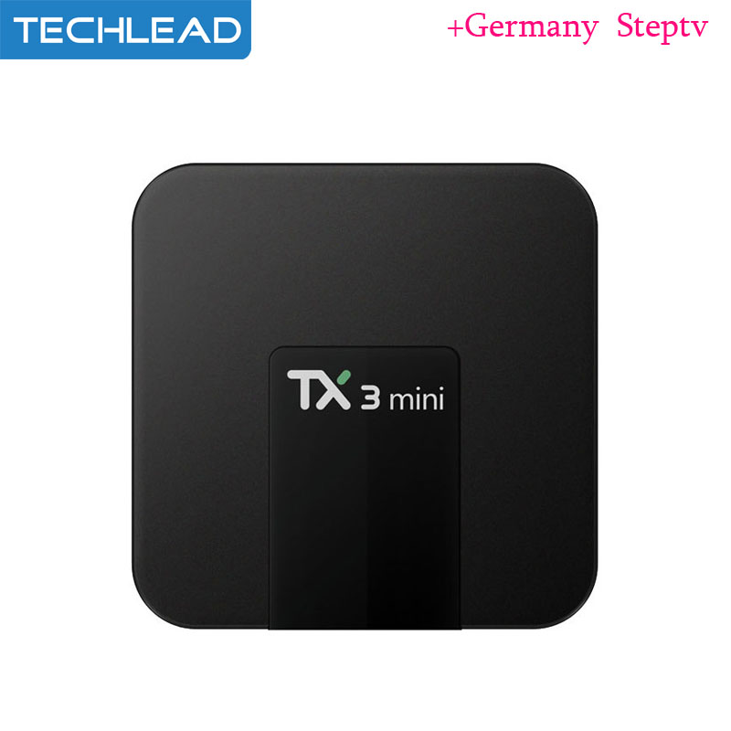 US $61 58 |TX3 Mini Android IPTV Box 4K With French TV Channels Arabic  Germany Dutch TV Subscription Indian Italy Turkey UK Arab Steptv pro-in  Set-top