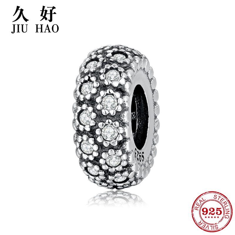 cfd5a493e 925 Sterling Silver like a sunflower interval beads womens accessories  trendy 2018 Fit Original Pandora Charm Bracelet Jewelry