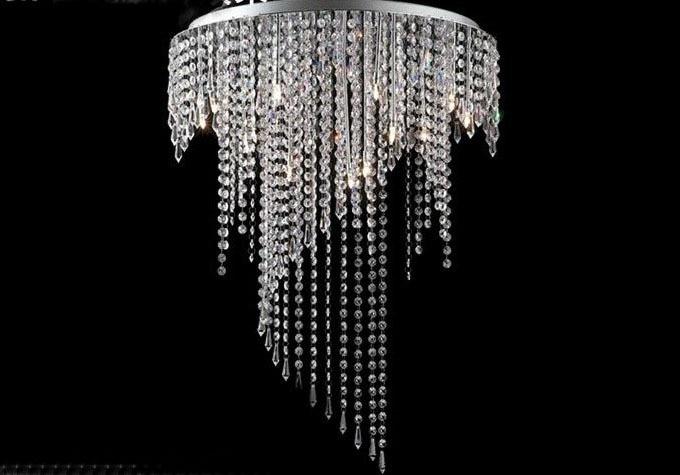 New Fashion Crystal Ceiling Lights 8 Fixtures Living Room Lustres De Sala Led G9 Lamp Bedroom Lustre Para