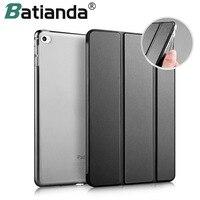 For IPad Pro 9 7 Case Soft TPU Bumper Edge Slim Fit Leather Smart Case Cover