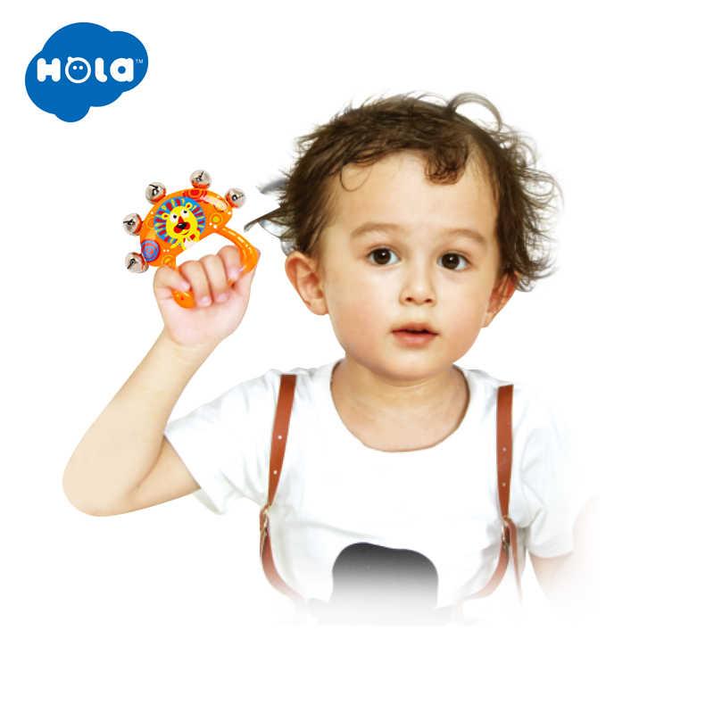 1PC はいはい 3102E は、音楽のおもちゃのハンドベル、教育手ガラガラ、おもちゃの楽器ベビーハンドヘルドベル