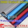 300d tela de Oxford con recubrimiento de PVC tela impermeable para la bolsa de tienda de campaña