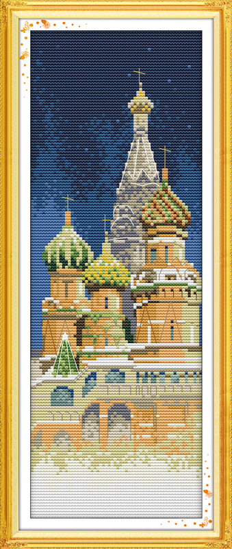 Buy the russian church scenery dmc decor for Decor international wholesale