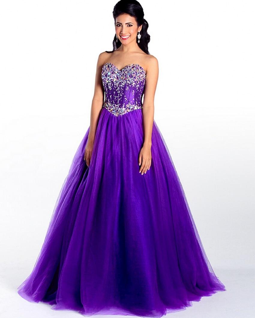 sweet sixteen dresses purple