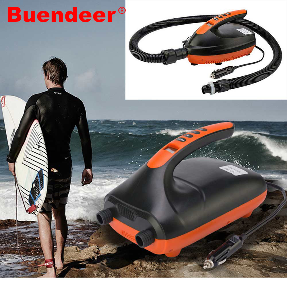 Buendeer SUP Car Electric Air Pump Intelligent High Speed Inflatable Pump Only for Paddle SUP Max