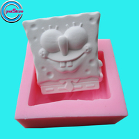 Free Shipping Cartoon Baby Shape Silicone Mold Silicone Soap Mold Cake Mold Bakeware Cooking Tools