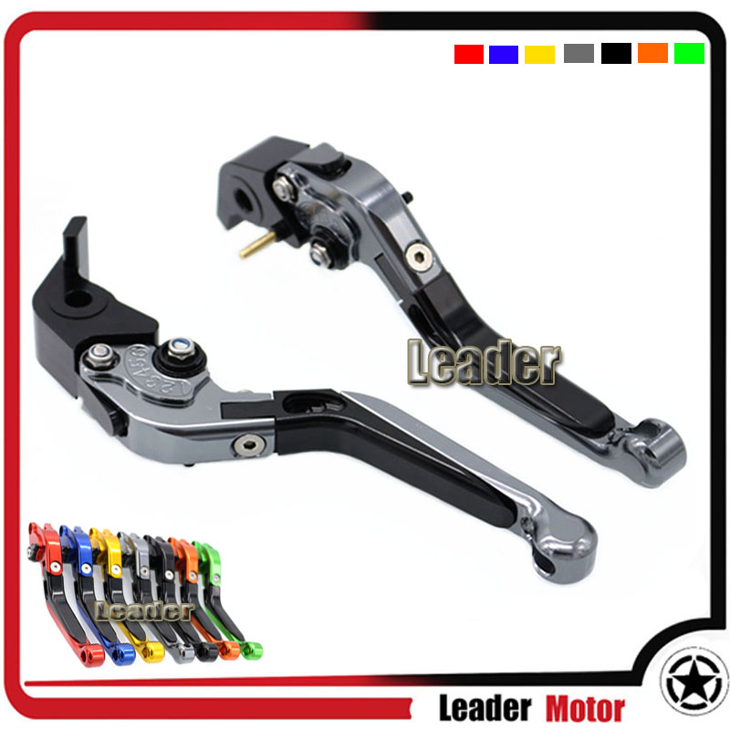 For DUCATI STREETFIGHTER/S/848 M1100/S/EVO Monster 999/S/R 749S/R S4RS Motorcycle Folding Extendable Brake Clutch Levers Gray intervyu s generalom petrovskim