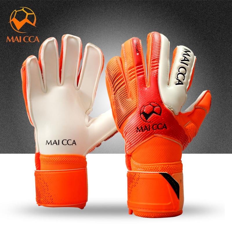 Professional Football Soccer Goalie Size 5 6 7 Child Latex Goalkeeper Gloves Sports